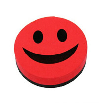 Smile EVA Felt Magnetic Whiteboard Eraser for Gift