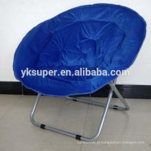 Amostra grátis cadeiras duplas redondas para adultos cadeira de lua barato ao ar livre