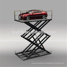 Motor Full Rise Scissor Car Lift