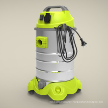 Portable vacuum cleaner with wet and dry function