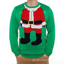 16PKCS01 2017 adults LED light sweater for christmas