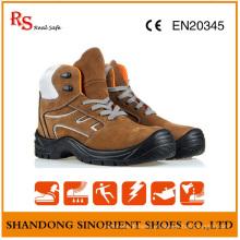 Sapatos de segurança de trabalho Toe aço de engenharia