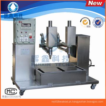 Máquina de enchimento antiexplosão de duas cabeças para o óleo / pintura / revestimento
