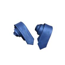 Mode Skinny Men Großhandel Leder Krawatte