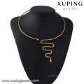 Xuping 2016 Lastest Collier Cercle Rond Laiton Dur