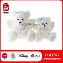 Popular Soft Plush Stuffed Toy Teddy Bear with Angel Wings