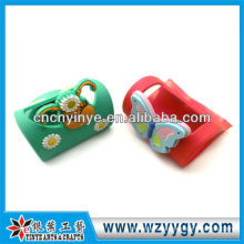 Cute Butterfly Shape Soft Pvc Mobile Phone Holder