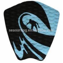 Plate-forme de pont de texture de diamant noir de 2015 pour le pad de traction de planche de surf / planche de surf