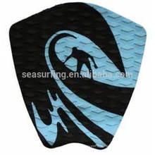 2015 black diamond texture deck pad for surfboard/surfboard traction pad