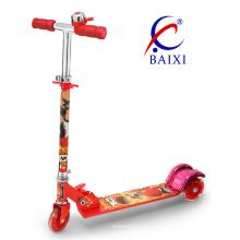 """""""Trotinette"""" de dobramento de 3 rodas para crianças (BX-3M005)"""