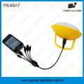 Carregador solar móvel portátil do banco das energias solares do carregador para o cantão solar justo