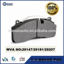 29147 29181 29207 pastilha de travão de disco resistente para Volvo Renault GIGANT