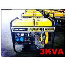 Yellow Color Generator 50Hz/2.8kw Open Frame