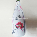 750ml neoprene champagne bottle carrier sleeve with zipper