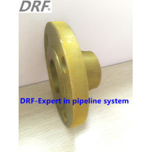 Yellow Painted Welding Neck Flange, Valve Flange