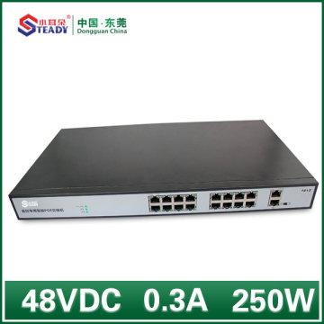 Commutateur POE Gigabit standard géré 16 ports