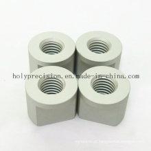Peças giradas CNC do alumínio para o equipamento eletrônico