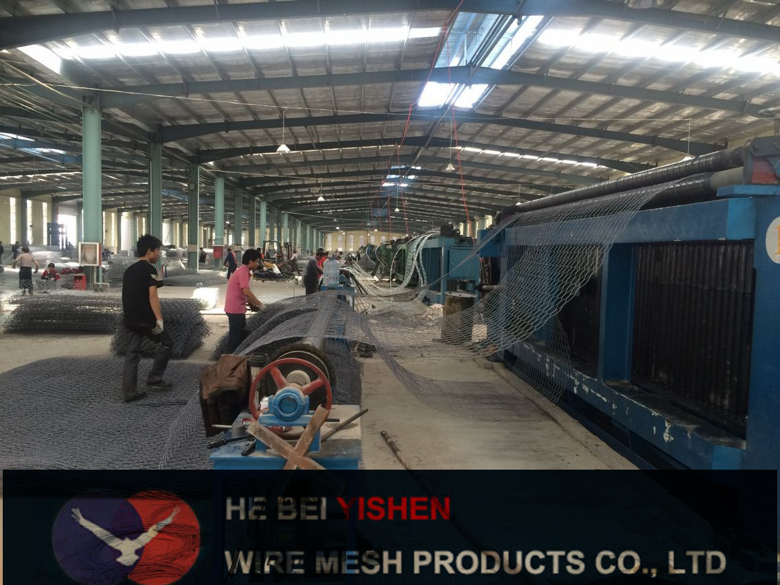 gabion mesh workshop