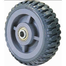 Flame PU Single Wheel (Gray)