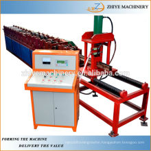 Colored Steel Rolling Shuttering Door Guide Rail Making Machine