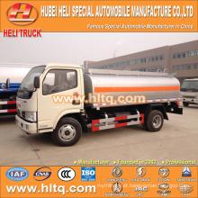 DONGFENG 4X2 pequeno caminhão-tanque de óleo 6000L preço barato fabricado na China