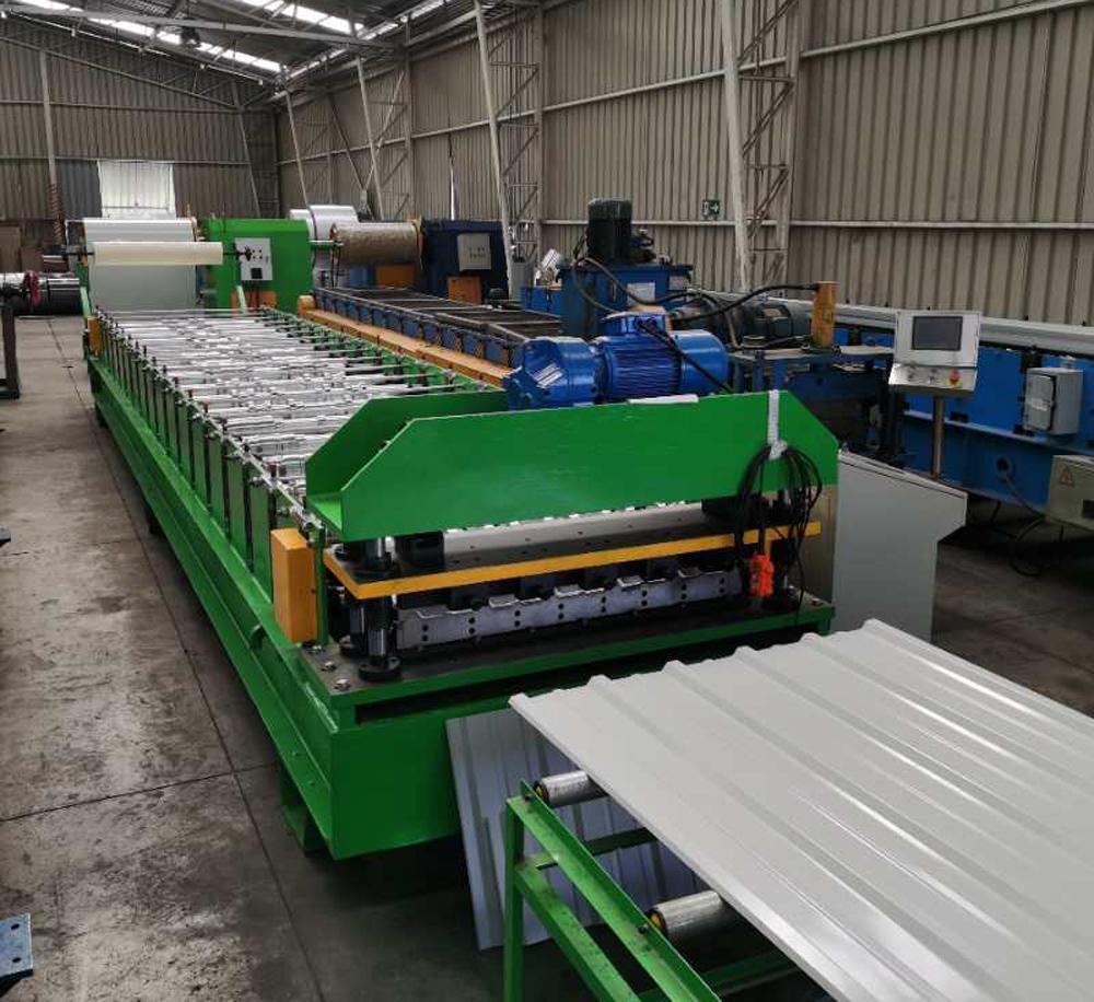IBR sheet Roofing machine