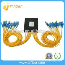 FTTH SC SM 1*32 PLC fiber optic splitter