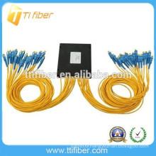 FTTH SC SM 1*32 PLC fiber optic splitter