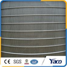 Chine en ligne shopping plat soudé écran en acier inoxydable wedge fil