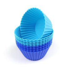Venta al por mayor Muffin Cup Cake Mold Silicon