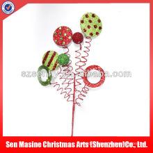 Pegajosas y sprays de Navidad de plástico de lujo