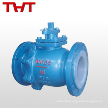Manual stardand ball valve flange specification weight