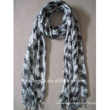 Fashion 100% viscose animal print scarf
