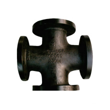 Black Malleable Iron Pipe Fittings Weld Ends Carbon Steel Black Pipe Fittings Tee Cross