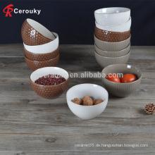 Werbe-Großhandel Keramik dekorative Dessert Schüssel
