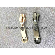 Золотой пушки цвета металлической молнии Slider для OEM-заказа