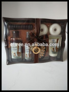 new wild vanilla sugar hot sale high quality bath set in wooden basket