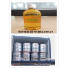 Agente lubricante NO CAS: 1338-39-2 / Sorato laurato 20 / Span20