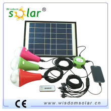 2014 neue CE Solar Cell Kit, solar home Licht, solar led Birne, led solar Lampe