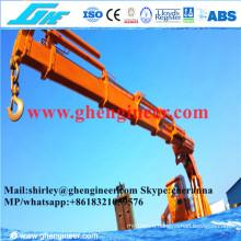 3.5t@8m Hydraulic Foldable Boom Offshore Crane