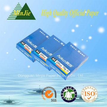 Multi Función 102% Blancura Alta Calidad 80 G / M A4 Papel de Copia