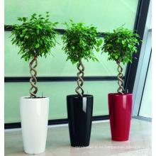(BC-F1045) Diseño de moda plástico auto-riego Flower Pot