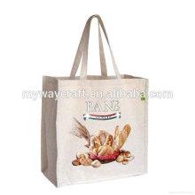 recyclable beige reusable non woven bag