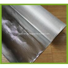 Paño de fibra de vidrio recubierto de papel de aluminio resistente al fuego