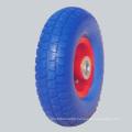 PU Foam Rubber Wheel/Durable PU Foam Wheel Alibaba China Supplier