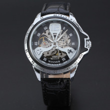 visible mechanism automatic movement mechanical watch for men