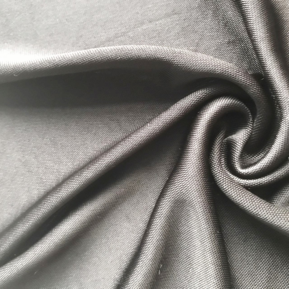 Viscose plain double jersey
