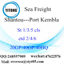 汕頭市港海貨物輸送のポートケンブラに