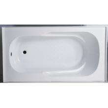 Baignoire de tablier approuvée de vente chaude d'Upc, ABS ou baignoire acrylique de jupe
