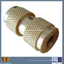 Latón de inserción y CNC de mecanizado de cobre (MQ057)